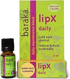 Baraka LipX Daily Cold Sore Control (1pk), Natural Remedy