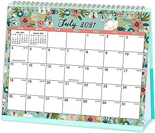 2021 Desk Calendar - Standing Flip 2021 Desktop Calendar, Generous Memo Lined Pages with Thick Paper, Jan 2021 - Dec 2021,...