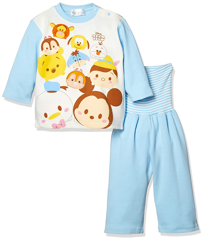 [ディズニー] DBツムツムミッキー&ミニー腹巻付きパジャマ 331108704 ボーイズ