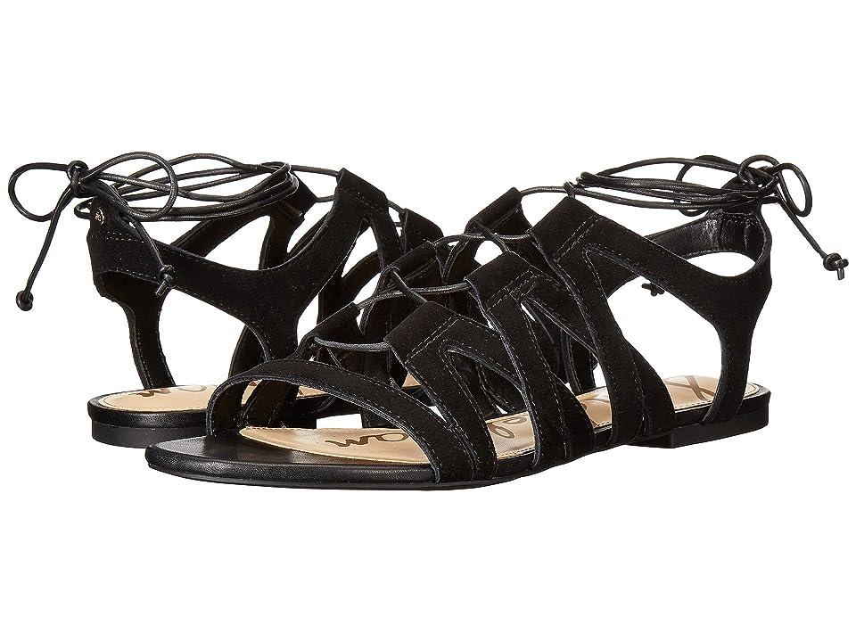 Sam Edelman Boyden (Black/Diva Suede Leather) Women