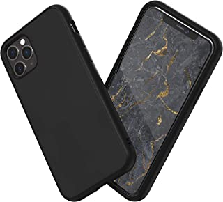 RhinoShield Case for iPhone 11 Pro SolidSuit - Shock Absorbent Slim Design Protective Cover with Premium Matte Finish 3.5M/11ft Drop Protection - Classic Black