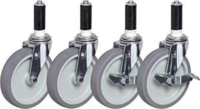 """4"""" Expandable Stem Caster Set 