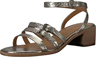 FRYE Women's Cindy Buckle Sandal Heeled