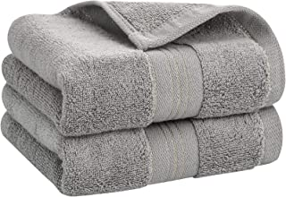 ENASUE Cotton Hand Towels, Set of 2, Ultra Soft and Highly Absorbent Face Towel, Durable Hand Towel for Everyday Use, Hom...