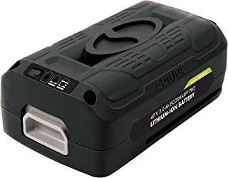 Snow Joe + Sun Joe iONMAX iBAT40XR EcoSharp Pro Lithium-Ion Battery | 40 Volt | 5.0 Ah