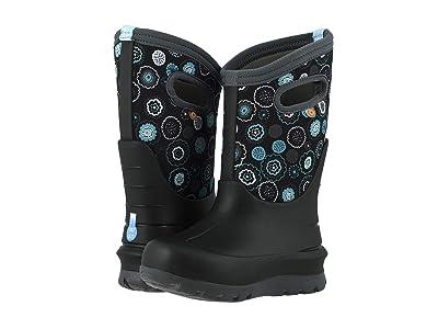 Bogs Kids Neo-Classic Bullseye (Toddler/Little Kid/Big Kid) (Black Multi) Girls Shoes
