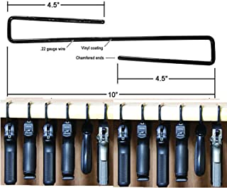 E-ONSALE AmeriGun Club Easy Use Gun Hanger Pack of 12 Original Handgun Hangers (12 Packs)
