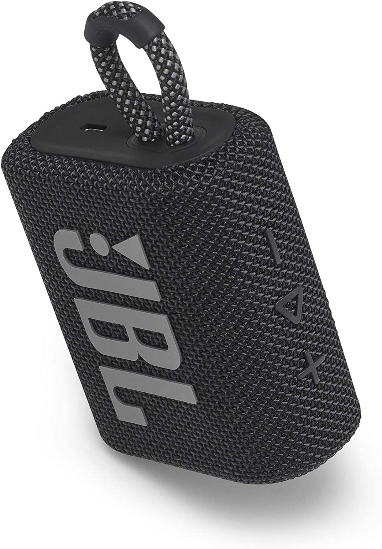 JBLGO3BLUAM JBL GO 3 Portable Waterproof Bluetooth Speaker Blue