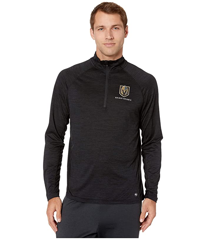 Vegas Golden Knights Impact 1/4 Zip Jet Black