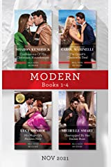 Modern Box Set 1-4 Nov 2021/Confessions of His Christmas Housekeeper/The Greek's Cinderella Deal/His Majesty's Hidden Heir/Unwra Kindle Edition