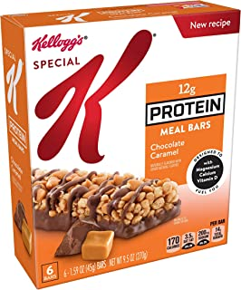 Special K Protein Meal Bars, Chocolate Caramel, 9.5 oz (6 Count)