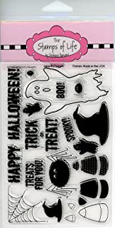 Scary Halloween Stamps for Card-Making and Scrapbooking Supplies by The Stamps of Life - Spooky2Scare