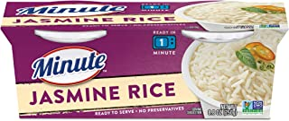 Minute Ready to Serve Jasmine Rice - Two 4.4OZ Cups - Pack Of 8
