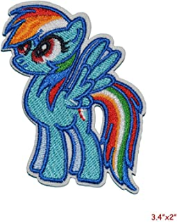 My Little Pony - Rainbow Dash Embroidered Patch/applique
