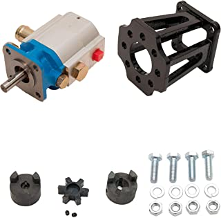 ToolTuff Log Splitter Build Kit: 11 GPM Pump, Coupler, Mount, Bolts, Huskee, Speeco, etc (for 3/4