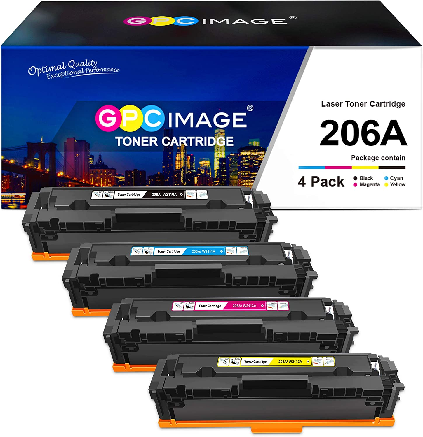 GPC Image Compatible Toner Cartridge for 206A バーゲンセール HP Replacement 206 流行