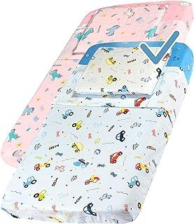 Next To Me - Juego de sábanas compatibles de 4 piezas con esquinas Chicco Next2Me para recién nacido, 100 % algodón, cuna Dream Cam, cuna Kinderkraft Brevi cama Cosleeping azul claro