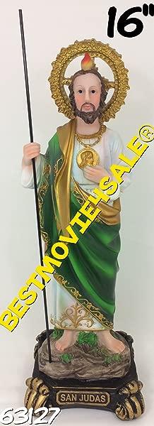 C C 16 Inch Statue Saint Jude San Judas Tadeo St Santo Figurine Figure Religious