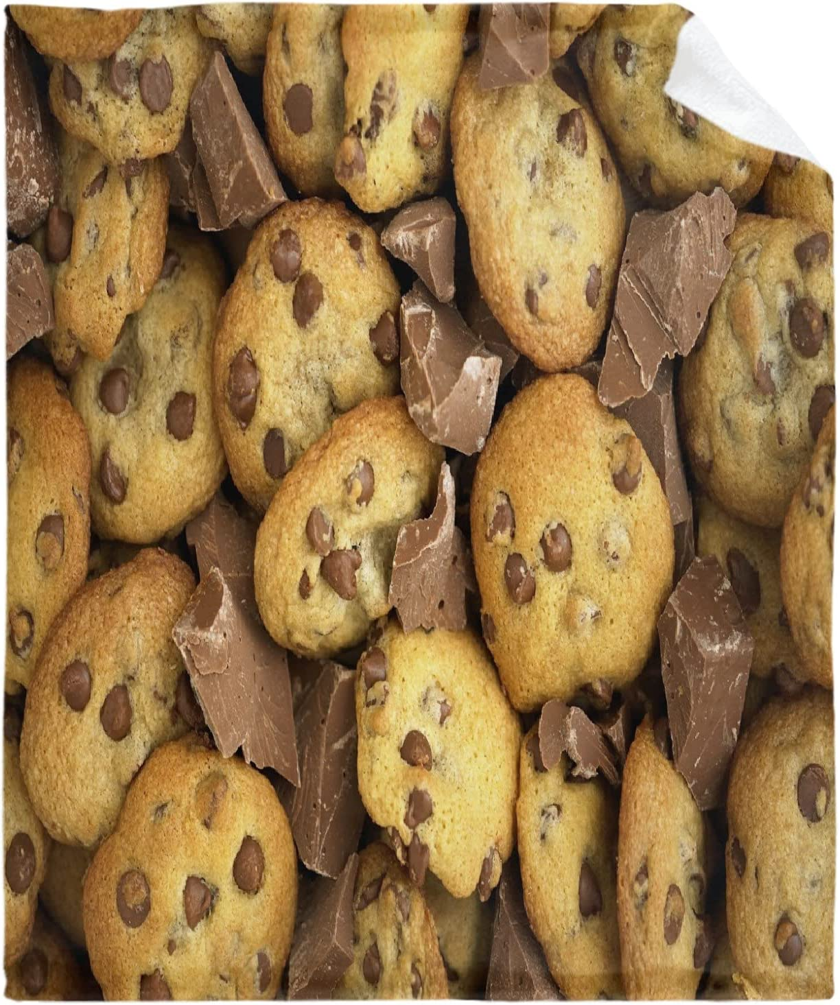 safety Excellence Ksitigarbha Chocolate Chip Cookies Flannel Blanket Super an Soft