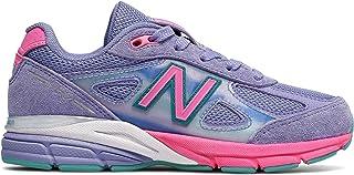 (ニューバランス) New Balance 靴?シューズ キッズランニング 990v4 Purple with Pink パープル ピンク US 2 (20.5cm)