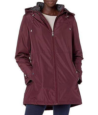 INTL d.e.t.a.i.l.s Zip Front Hooded Winter Coat Jacket