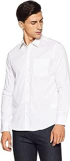 Alcott Men's Plain Slim Fit Casual Shirt
