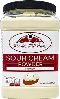 Hoosier Hill Farm Real Sour Cream powder, Hormone free, 2 lbs