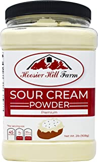 Hoosier Hill Farm Real Sour Cream powder, Hormone free, 2 lbs
