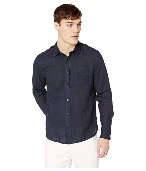 Vince Solid Double Face Long Sleeve