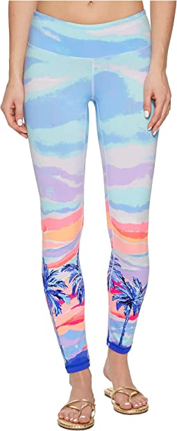 Pink Sunset Palm Sunset Engineered Pants