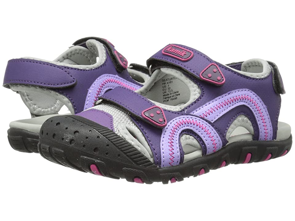 Kamik Kids Seaturtle (Toddler/Little Kid/Big Kid) (Purple) Girl