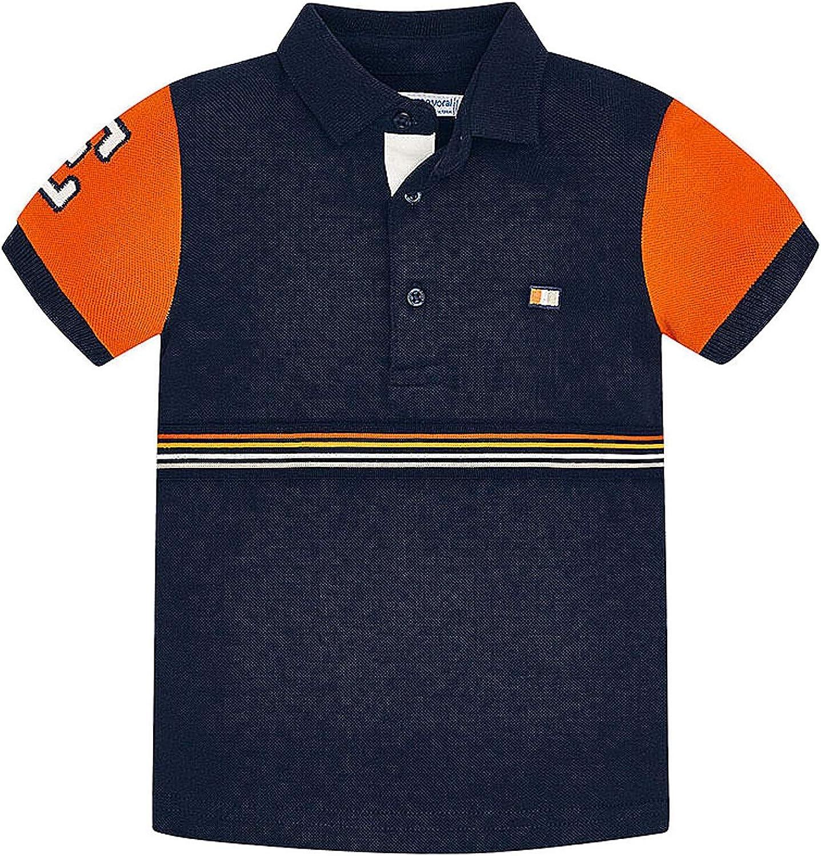 Mayoral - S/s Polo for Boys - 3153, Ocean