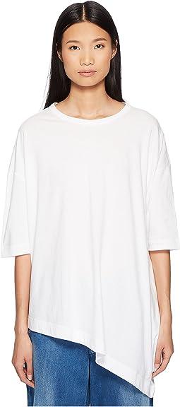 Y's by Yohji Yamamoto - M-Unbalance T B Asymmetrical Tee Shirt