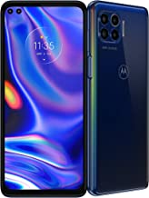 Motorola One 5G | 2020 | Unlocked | Made for US by Motorola | 4/128GB | 48MP Camera | Blue (Renewed)