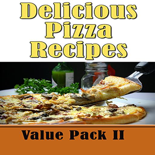 Pizza Recipes: 50 Delicious Homemade Pizza Crust Recipe Book Value Pack 2