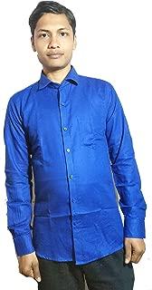 Men Light Blue Shirt