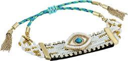 Rebecca Minkoff - Evil Eye Statement Beaded Bracelet