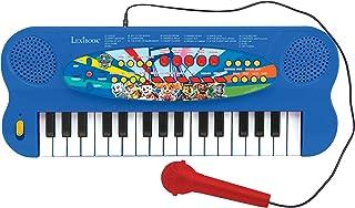 Paw Patrol Elektronisch Keyboard, Piano met 32 toetsen, Microfoon voor zingen, 22 Demo-songs, Op batterijen werkt, blauw /...