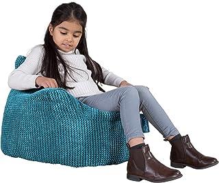 Lounge Pug®, Fauteuil Enfant, Pouf Enfant, Pompon Mer Égéé