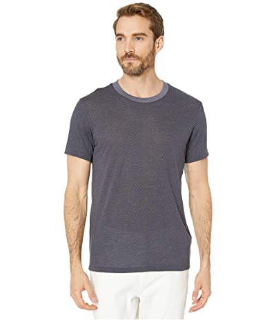Alternative Eco Crew T-Shirt (Navy Classic Herringbone) Men