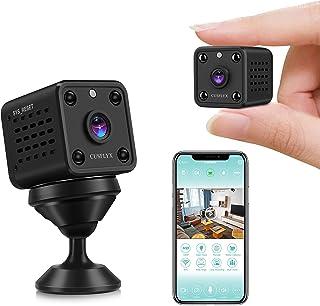 [ 2021 Upgrade ] Microcamere Spia - CUSFLYX 1080P WiFi HD Telecamera di Sorveglianza Rilevazione del Movimento Visione Not...