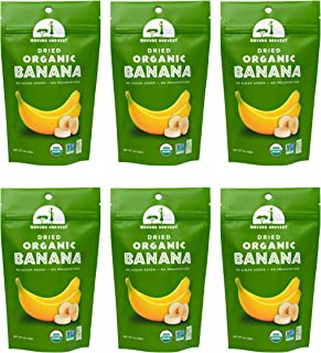 Mavuno Harvest Direct Trade Organic Dried Fruit, Banana, 2 Ounce, Pack of 6