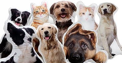 Amazon.com: Custom mascota foto perro almohadas de almohada ...