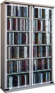 VCM Retal Mueble para Discos de Vinilo Roble Sonoma (Vetas) 915x60x18 cm