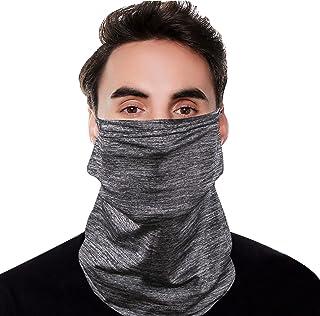 Ice Silk Face Mask Ear Loops Neck Gaiter Headwear Scarf Balaclava Bandana Headband