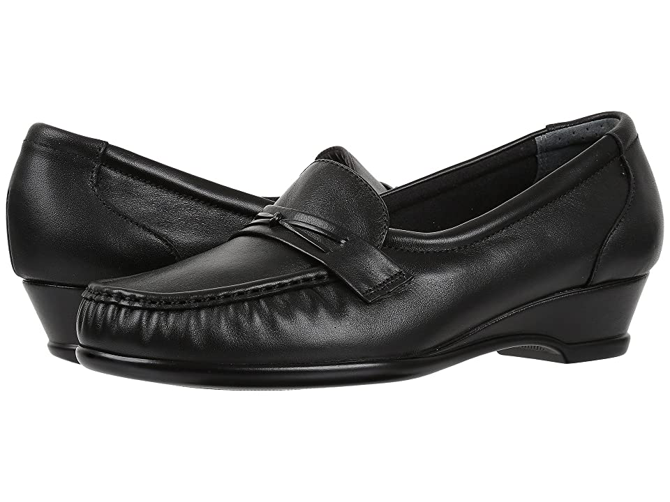 Retro Vintage Flats and Low Heel Shoes SAS - Easier Black Womens Shoes $142.95 AT vintagedancer.com