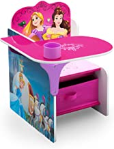 Delta Children Chair Desk with Storage Bin, Princess
