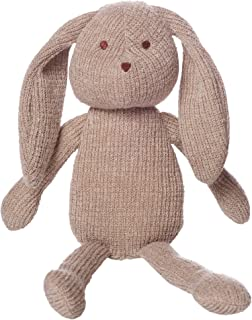 Manhattan Toy Clover Knit Fabric Bunny Stuffed Animal, 8