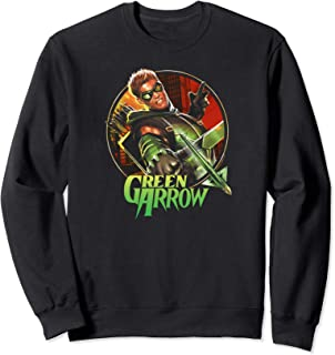 Green Arrow Sunset Archer Sweatshirt
