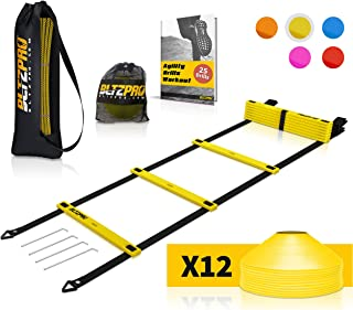 Bltzpro Football and Soccer Training Equipment - Cones &...